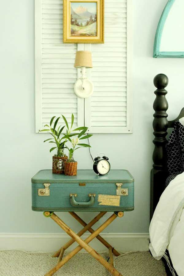 30 fabulous diy decorating ideas with repurposed old for Riciclo arredo