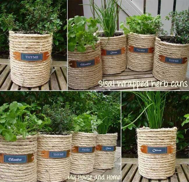 Craft Ideas For Empty Paint Cans