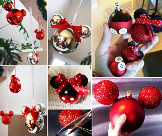 7decorate your christmas tree with these mickey and minnie mouse ornaments - Mickey Christmas Decorations