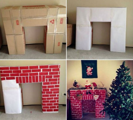 17_Cardboard-Christmas-Fireplace