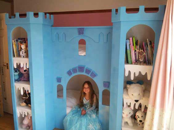 25 Cute Frozen Themed Room Decor Ideas Your Kids Will Love ...