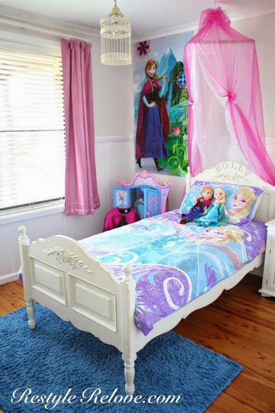 13 Year Bedroom Boy: 25 Cute Frozen Themed Room Decor Ideas Your Kids Will Love