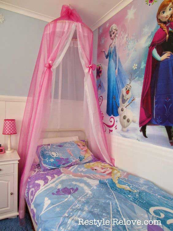 25 Cute Frozen Themed Room Decor Ideas Your Kids Will Love