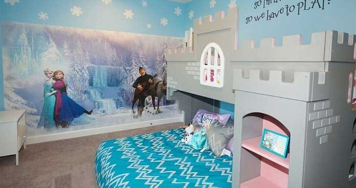 Great 25 Cute Frozen Themed Room Decor Ideas Your Kids Will Love
