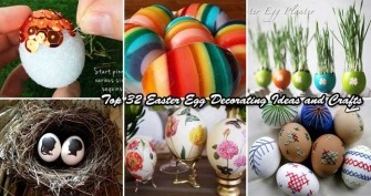 The 32 Most Unique and Fun DIY Easter Eggs Tutorials