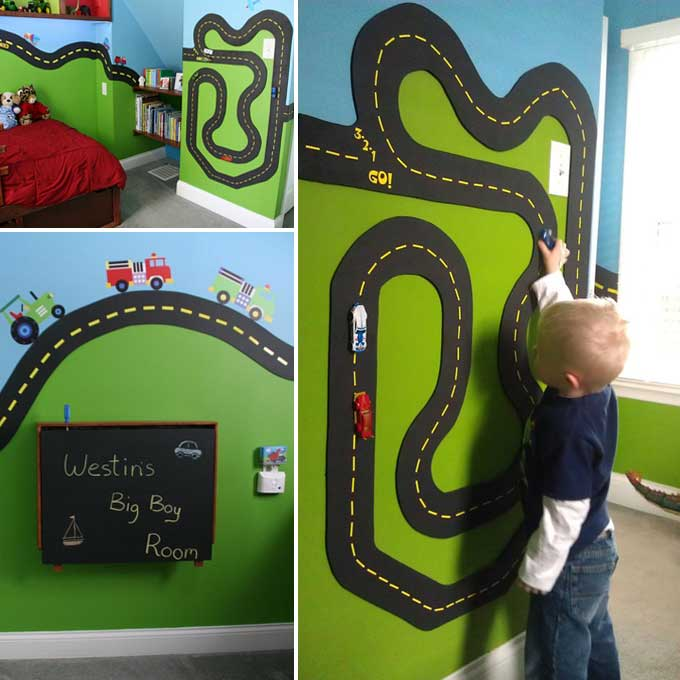Diy Projects For Kids Inspired By Race Car Tracks Homedesigninspired