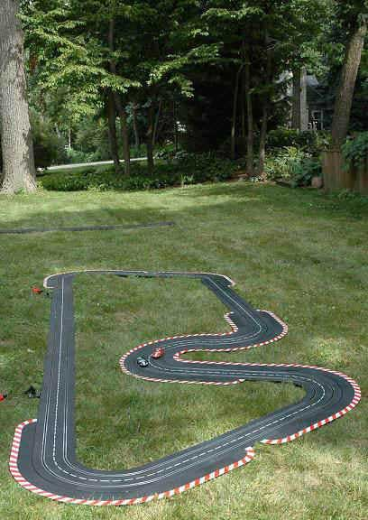 diy projects for kids inspired by race car tracks. Black Bedroom Furniture Sets. Home Design Ideas