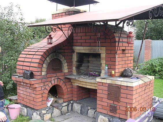 Hdi Home Design Ideas: 28 Outdoor Wood-fired Ovens Help To Jazz Up Your Backyard