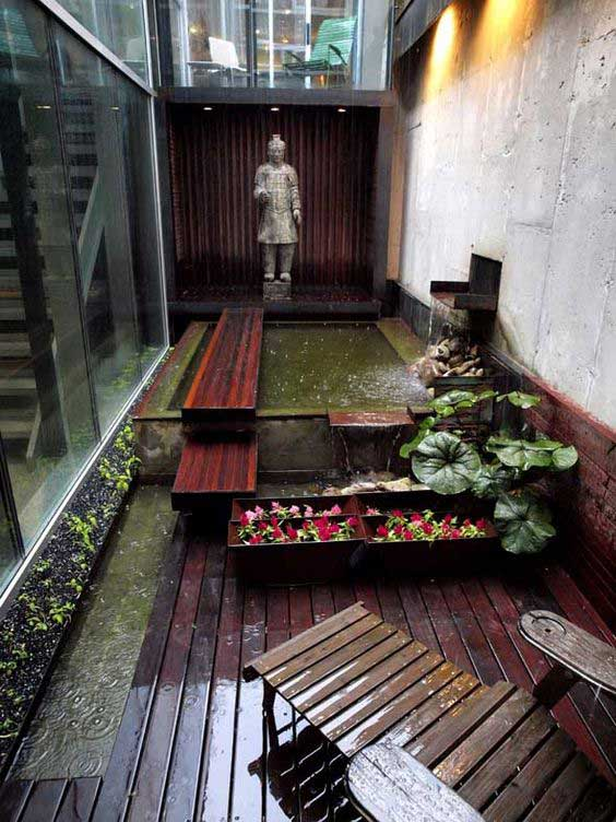 Indoor Courtyard Garden Ideas