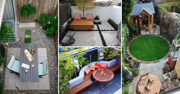 26 Fascinating Ideas For Tiny Courtyards With Statement