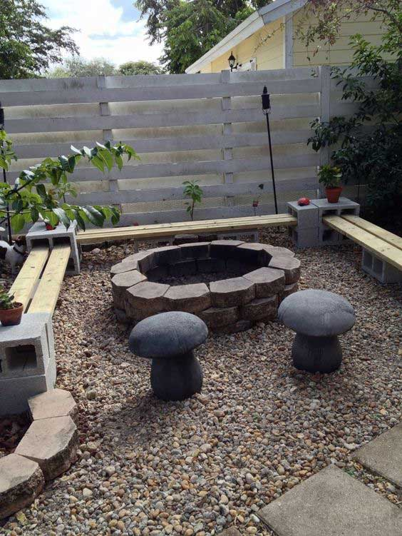 amazing 900mm fire pit #FirePit #HomeDecor #Backyard