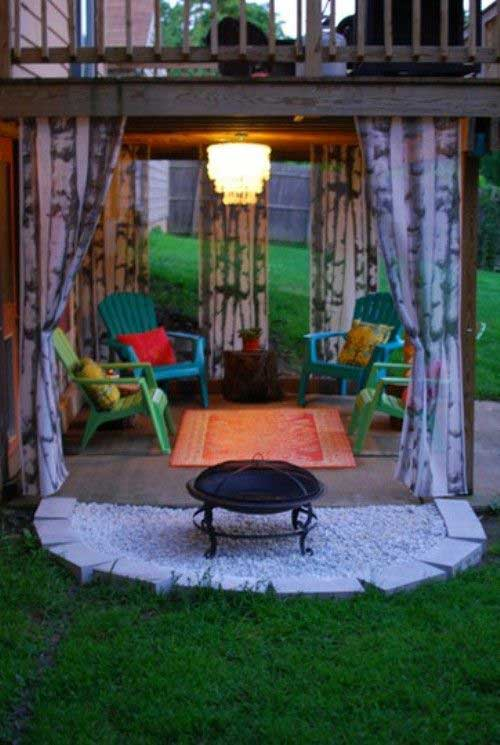 stunning yard fire pit #FirePit #HomeDecor #Backyard