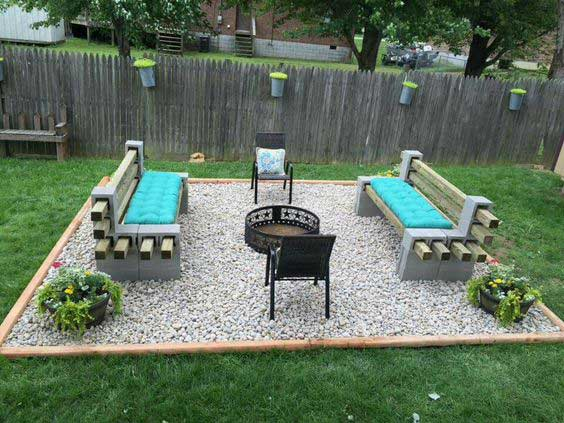 inspiring 90 cm kadai fire pit #FirePit #HomeDecor #Backyard