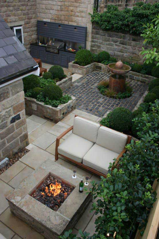 awesome 90 cm cast iron fire pit #FirePit #HomeDecor #Backyard