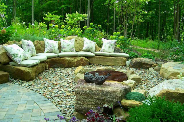 stunning 76cm fire pit #FirePit #HomeDecor #Backyard