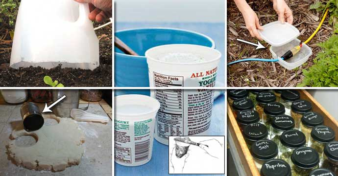 Top 22 Craziest Ways to Reuse Empty Food or Drink Containers