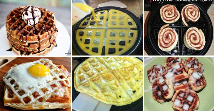 15 Amazing Foods to Magically Make in a Waffle Iron