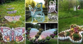 Truly Cool and Low-Budget Garden Decorations Inspired by Butterfly