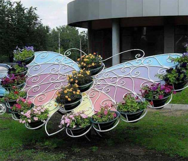 Truly Cool and Low-Budget Garden Decorations Inspired by Butterfly – HomeDesignInspired