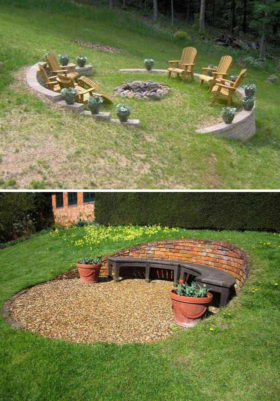 22 Amazing Ideas to Plan a Slope Yard That You Should Not ... on Backyard With Slope Ideas id=64861