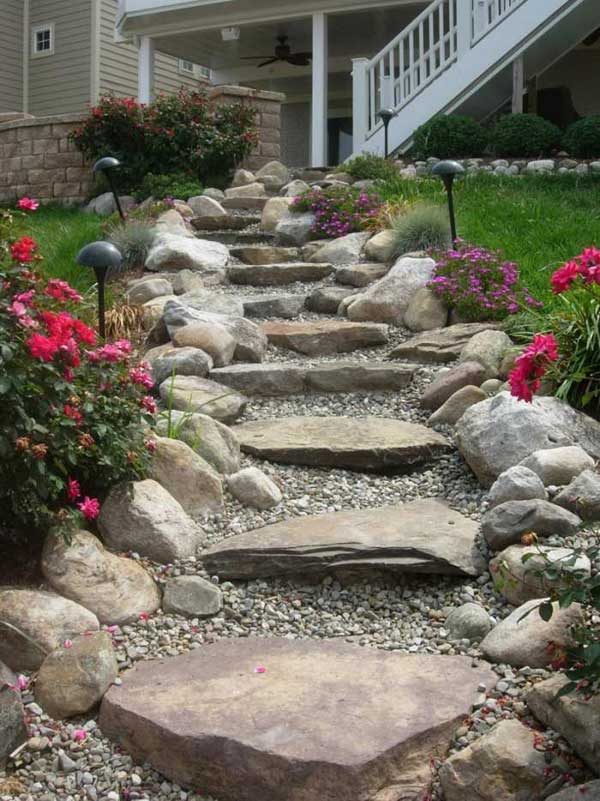 22 Amazing Ideas To Plan A Slope Yard That You Should Not Miss Homedesigninspired