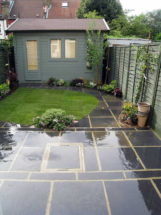 22 amazing ideas to plan a slope yard that you should not - Small backyard landscaping ideas ...