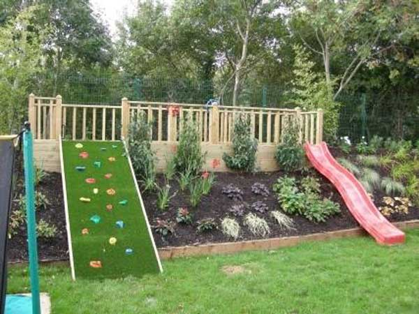 22 Amazing Ideas to Plan a Slope Yard That You Should Not ... on Backyard Ideas On A Slope id=70842