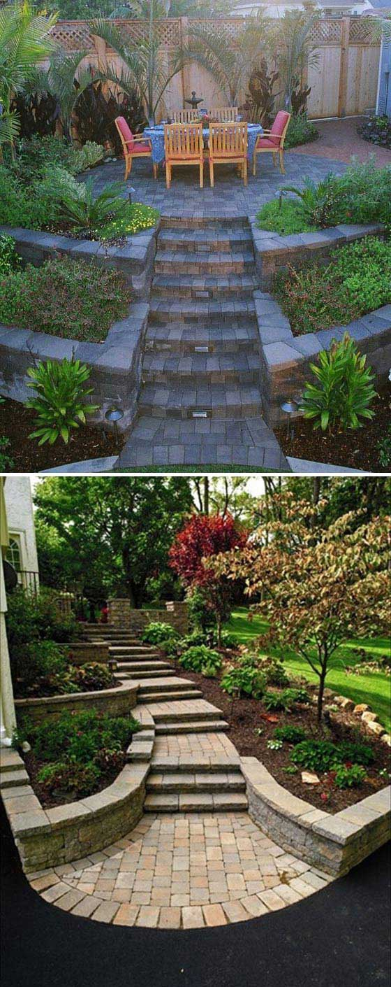 Watch further Slopes likewise 22 Amazing Ideas To Plan A Slope Yard That You Should Not Miss moreover Retainingwall together with 40884309087729612. on steep back yard landscaping ideas