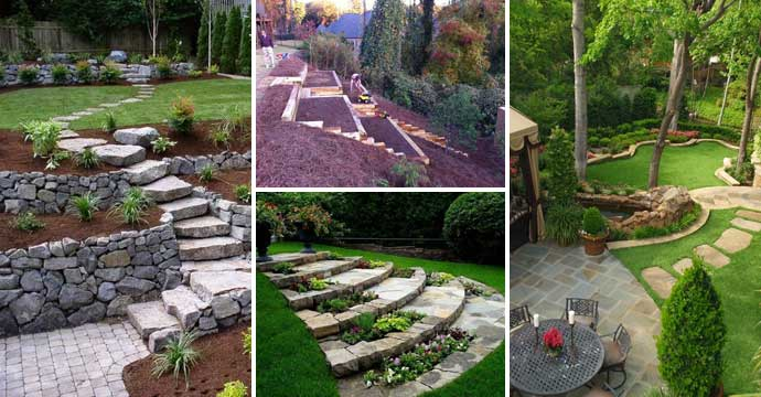22 Amazing Ideas to Plan a Slope Yard That You Should Not ... on Backyard With Slope Ideas id=83744