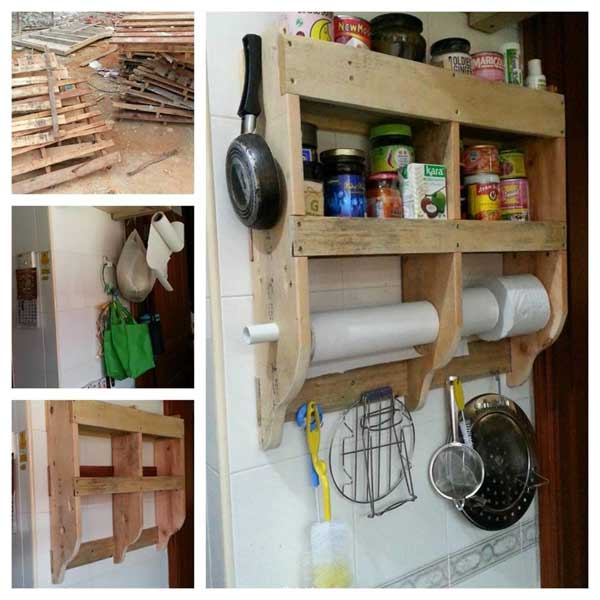 Top 23 Cool DIY Kitchen Pallets Ideas You Should Not Miss