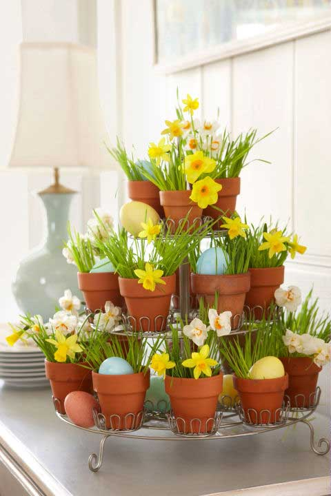 31 Chic DIY Easter Centerpieces To Dress Up Your Dinner