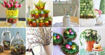31 Chic DIY Easter Centerpieces to Dress Up Your Dinner Table