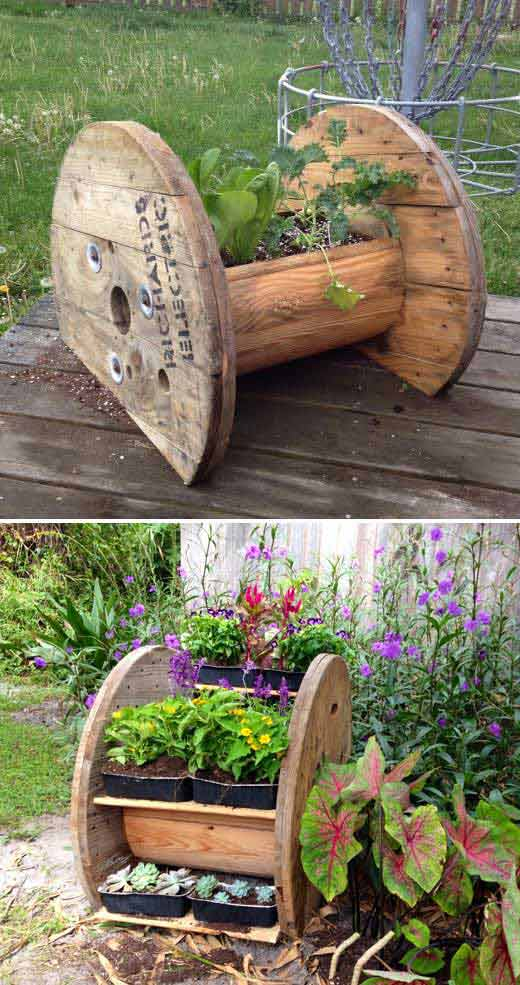 20 Truly Cool DIY Garden Bed and Planter Ideas ... on Outdoor Backyard Ideas id=45951
