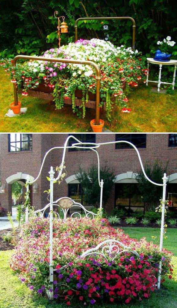 29 Awesome Diy Projects To Make Backyard And Patio More Fun: 20 Truly Cool DIY Garden Bed And Planter Ideas