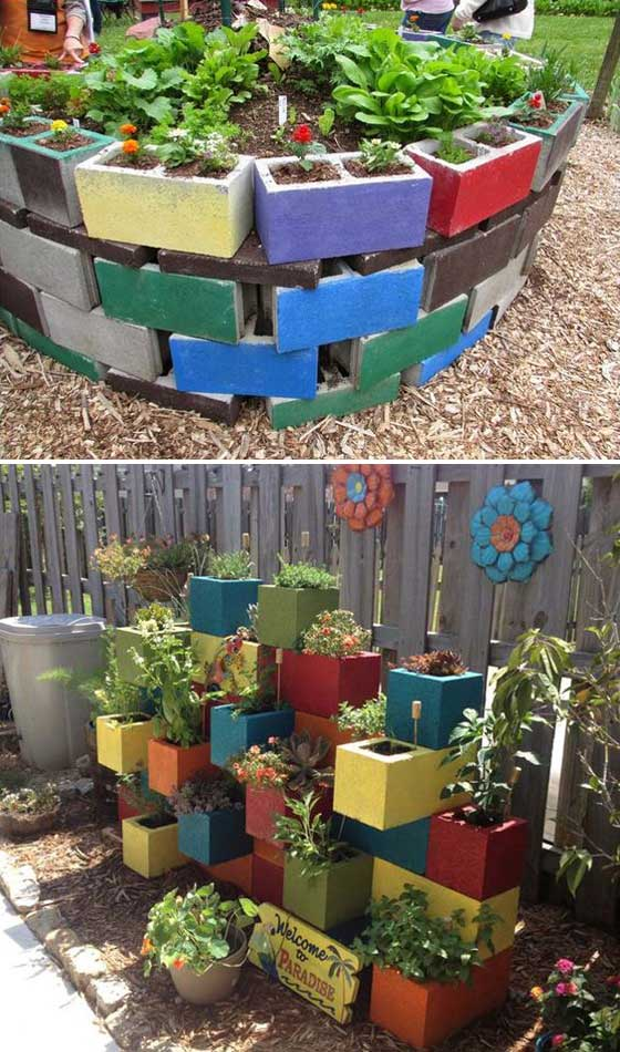20 Truly Cool DIY Garden Bed and Planter Ideas ...