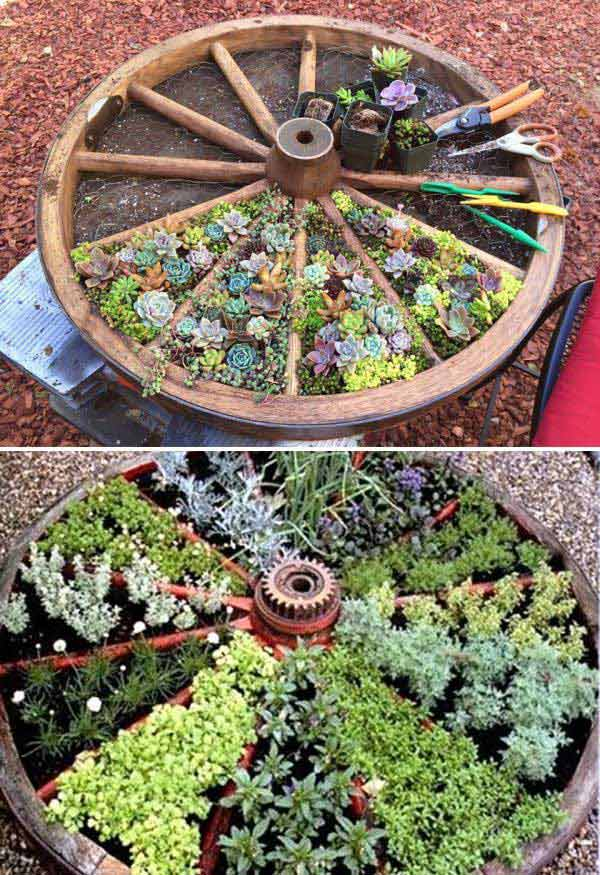 Best 20 Herb Garden Design 2017: 20 Truly Cool DIY Garden Bed And Planter Ideas