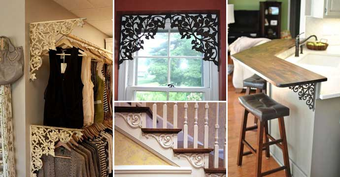 10 Cool Ways to Decorate with Brackets