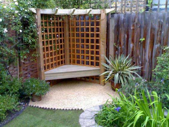 23 Easy-to-Make Ideas Building a Small Backyard Seating ... on Back Garden Seating Area Ideas id=65056
