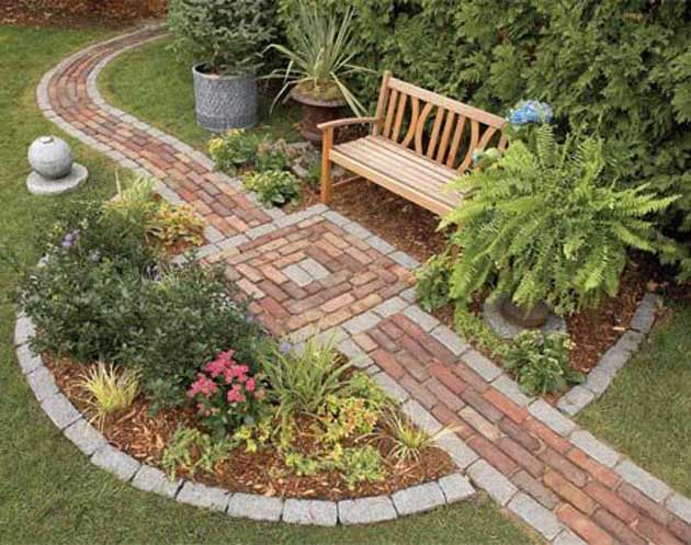 23 Easy-to-Make Ideas Building a Small Backyard Seating ... on Small Garden Sitting Area Ideas id=41711