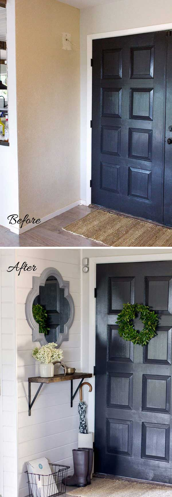 Diy Small Foyer : Truly awesome ways to give a makeover small entryway