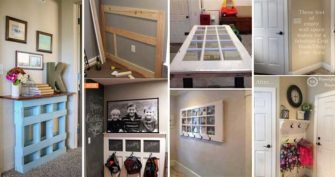 Truly Awesome Ways to Give a Makeover to a Small Entryway