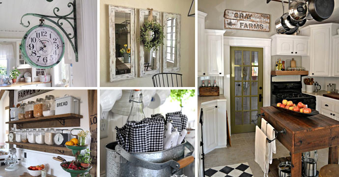 Top 29 DIY Ideas Adding Rustic Farmhouse Feels To Kitchen