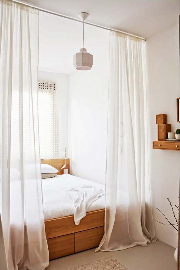 31 Small Space Ideas to Maximize Your Tiny Bedroom ... on Bedroom Ideas For Small Room  id=40686