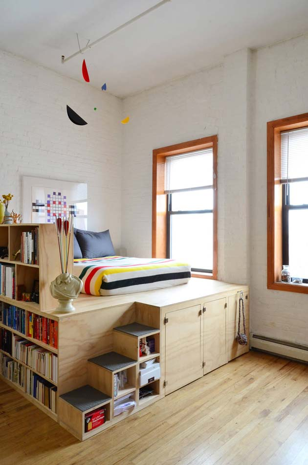 31 small space ideas to maximize your tiny bedroom for How to maximize small spaces