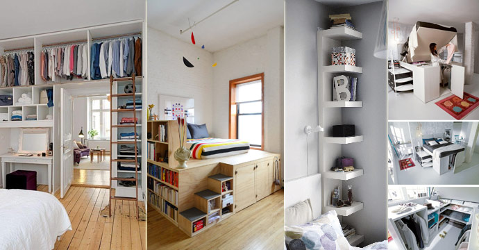Attirant 31 Small Space Ideas To Maximize Your Tiny Bedroom