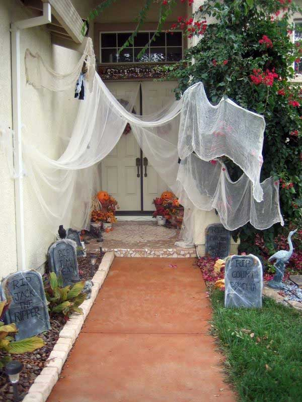 Halloween Yard.46 Successful Diy Outdoor Halloween Decorating Ideas Nobody Told You