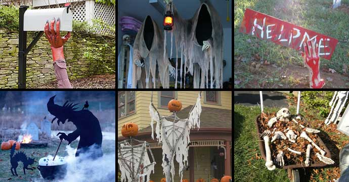 46 Successful DIY Outdoor Halloween Decorating Ideas Nobody Told You About & 46 Successful DIY Outdoor Halloween Decorating Ideas Nobody Told You ...