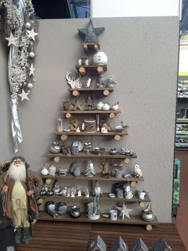 22 most simple and beautiful reclaimed wood christmas Christmas trees made out of wood