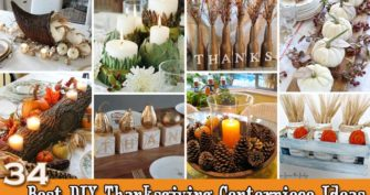 Top 34 Cool and Budget-Friendly Thanksgiving Centerpiece Ideas