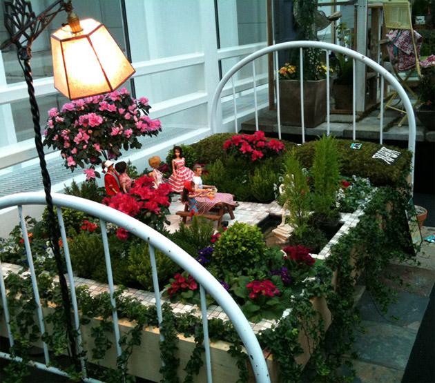 Broken Wire Bed Fairy Garden